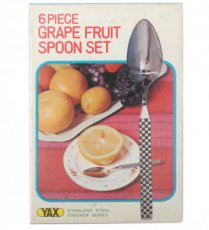 Grape fruit spoon set
